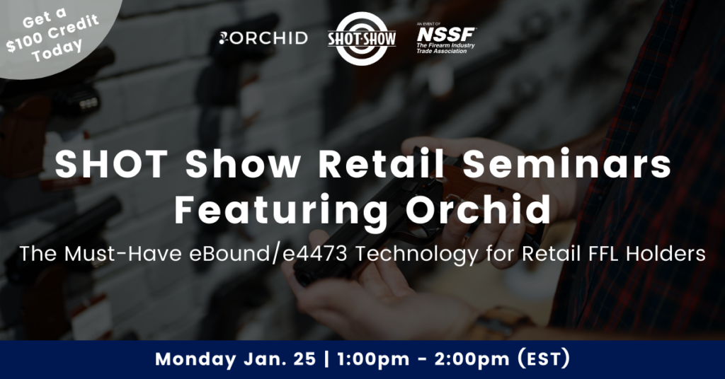 SHOT Show Retail Seminars Featuring Orchid